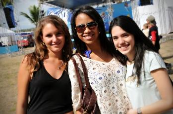Alexandra Papadopoulos, Josephine Sánchez y Daniela Del Pino