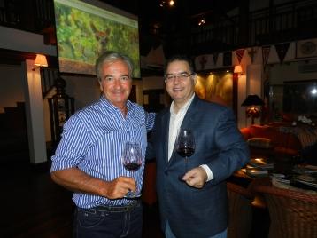 Carlo Mosca y Raúl Rodríguez Flaquer