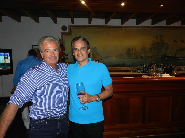 Carlo Mosca y ramón Cáceres