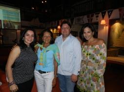 Patricia Proaño, Dominique Donzier, Jean-Pierre Santoni, Ivonna Sosa