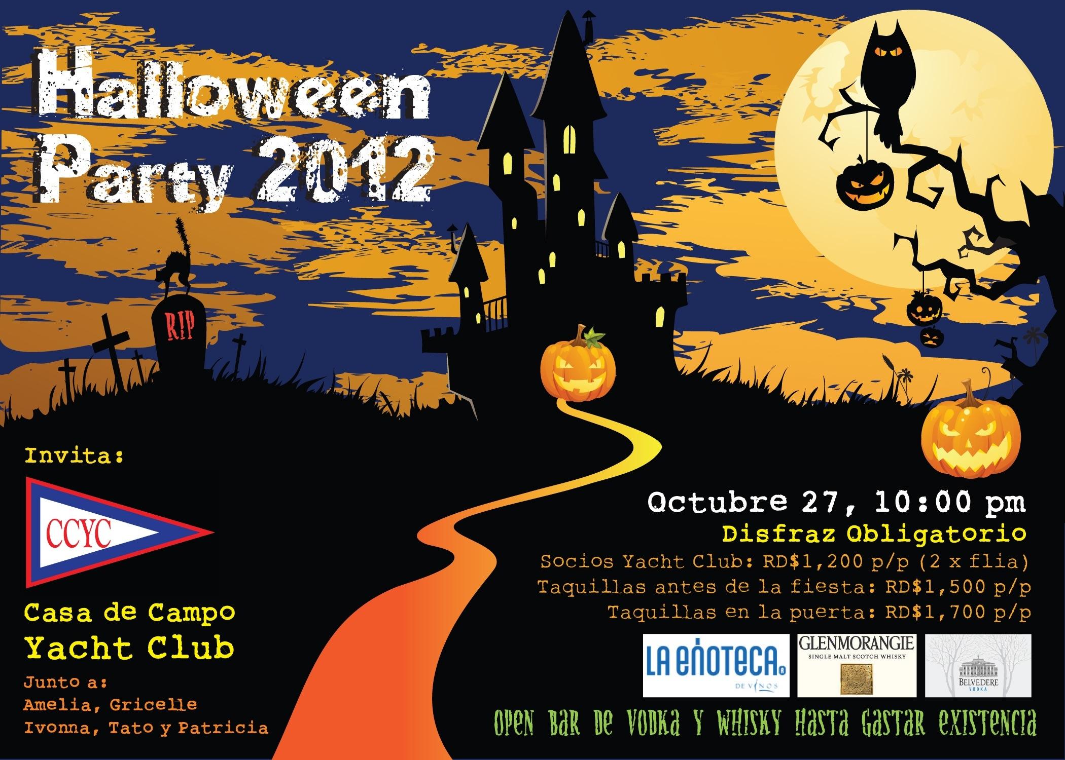 Halloween Party @CCYC   Sat 27th   10:00pm – Marina Casa de Campo News