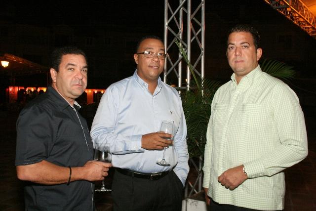 Eugenio Pian, Julio Marchena y Alejandro González