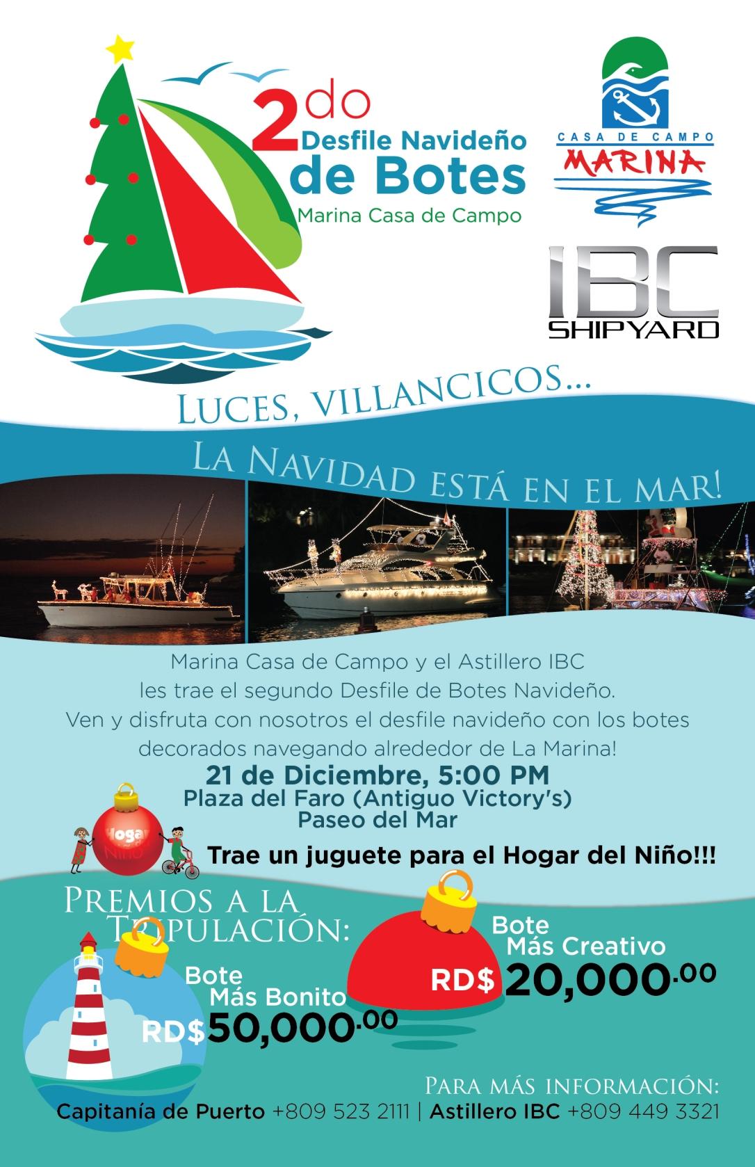 Flyer boat parade 2012-Español