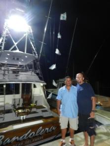 Capt. Kiko Rodriguez and Capt. Neil Orange