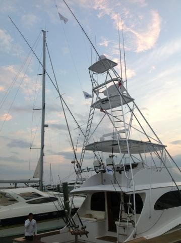 "Fishing vessel ""Shoe"" | 2/3 Blue Marlin, 1 Sailfish"