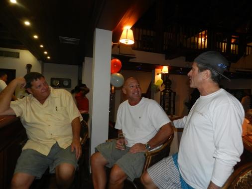 Capt. John, Cujo and Mike...
