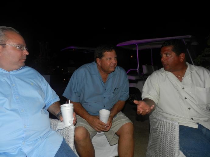 Josie, Capt. John and Capt. KIko