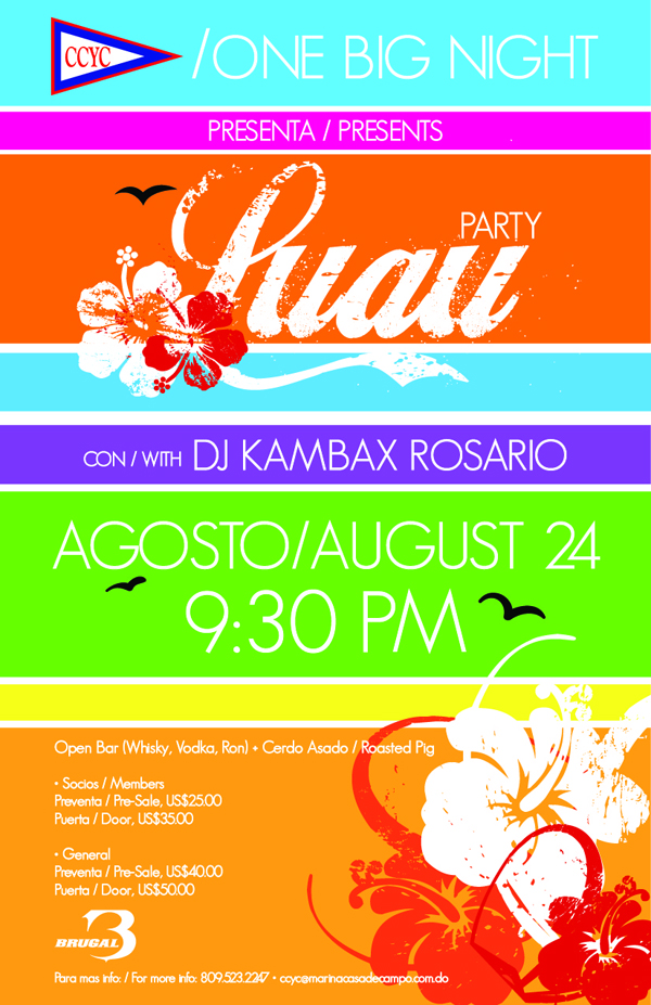 Flyer Open Bar_Luau Party_