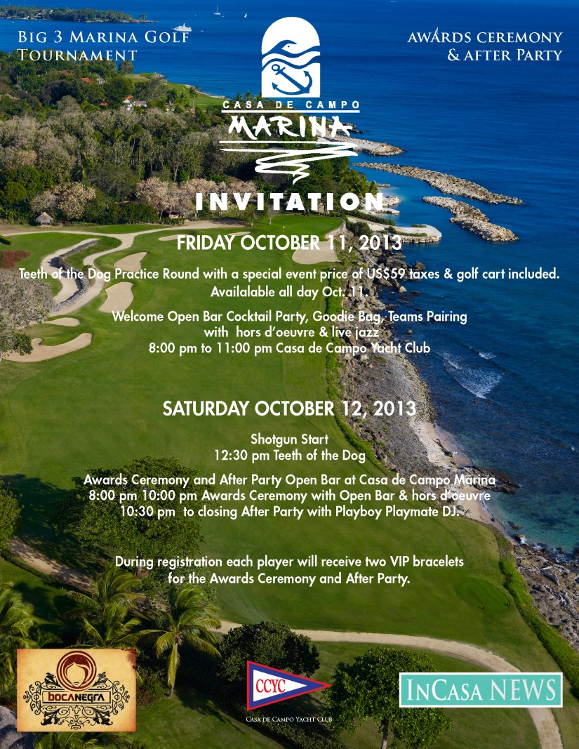 Marina Big 3-Invitation