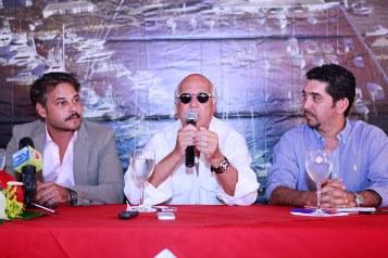 3.- Frank Perozo, Sergio Gobbi y Leo Proaño