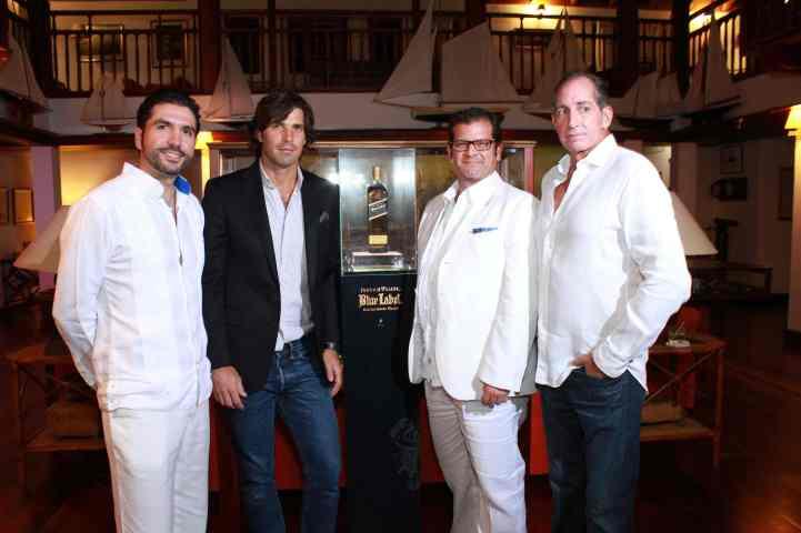 Alejandro Cleves, Nacho Figueras, Arturo Savage y Carlixto Garci¦üa