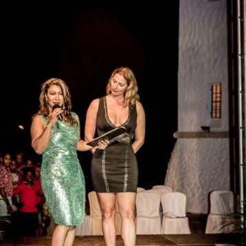 Hilda Peguero y Liinda Gausachs