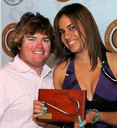 3rd Place Individual Angler. Taylor Beckford. Fe-La-Me