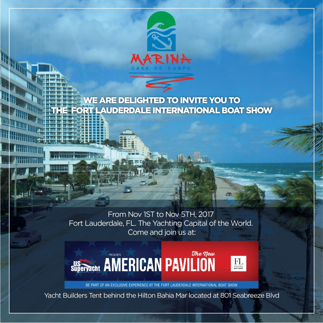 INVITACION FORT LAUDERDALE INTERNATIONAL-2017-Email Blast 600x600Pixels